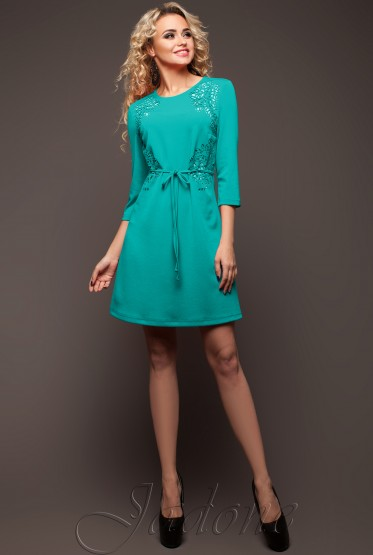 Tunic dress Sylar turquoise