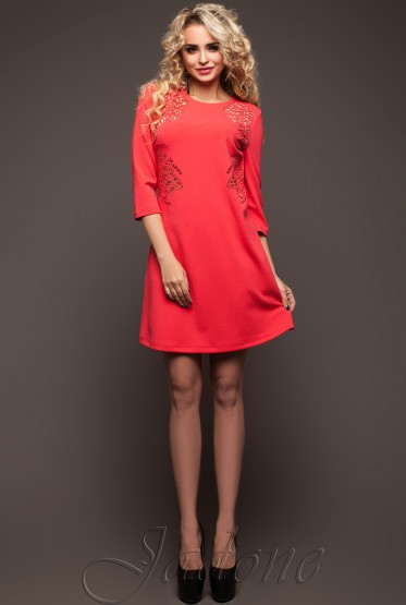 Tunic dress Sylar red