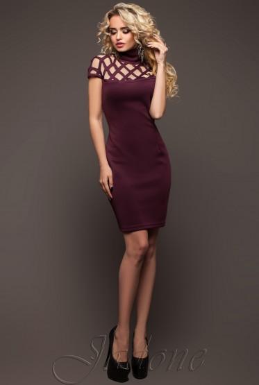 Molly Dress plum