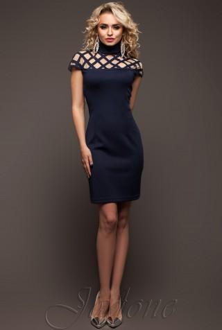 Платье Молли  тёмно-синий