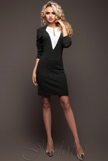 Denim Dress grey