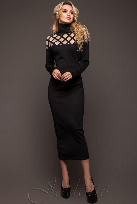 Платье Тресси  черный