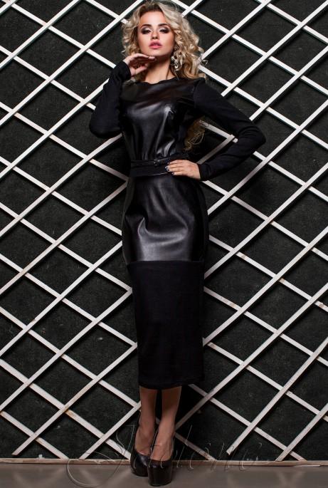 Платье Норика  черный