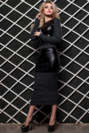 Dress Norica grey