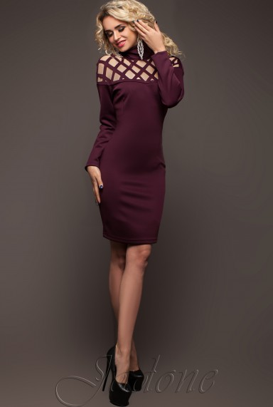 Платье Тресси_2 слива