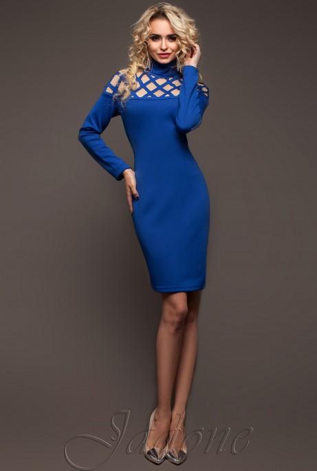 Платье Тресси_2 электрик