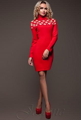 Платье Тресси_2 красный