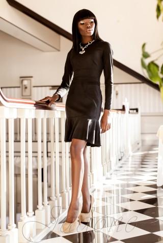 Платье Харси черный