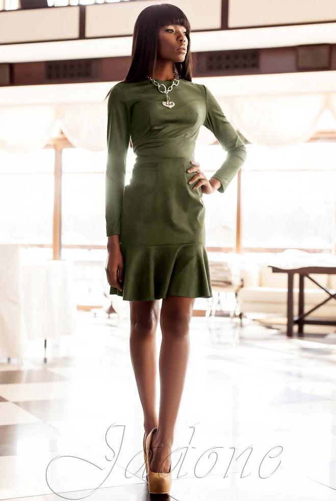 Платье Харси хаки Жадон