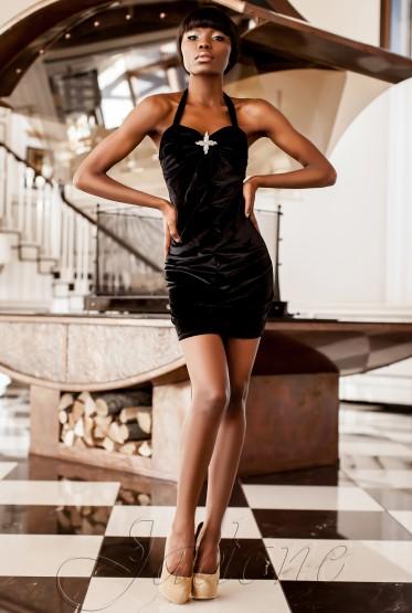 Платье Ролли-1 черный