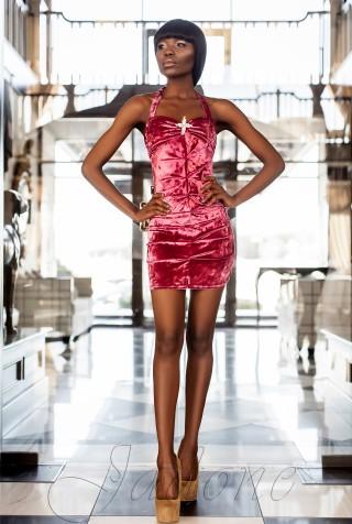 Платье Ролли-1 пурпурный