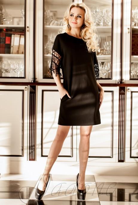 Платье-туника Кобби_1 черный