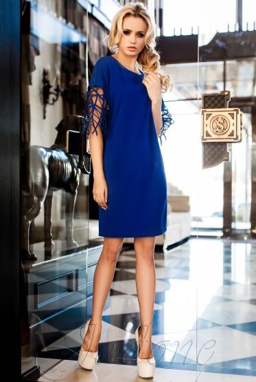 Платье-туника Кобби_1 электрик