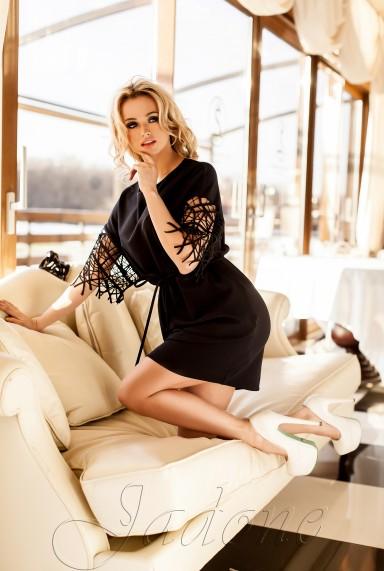 Платье-туника Кобби  черный