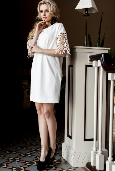 Платье-туника Кобби_1 молочный