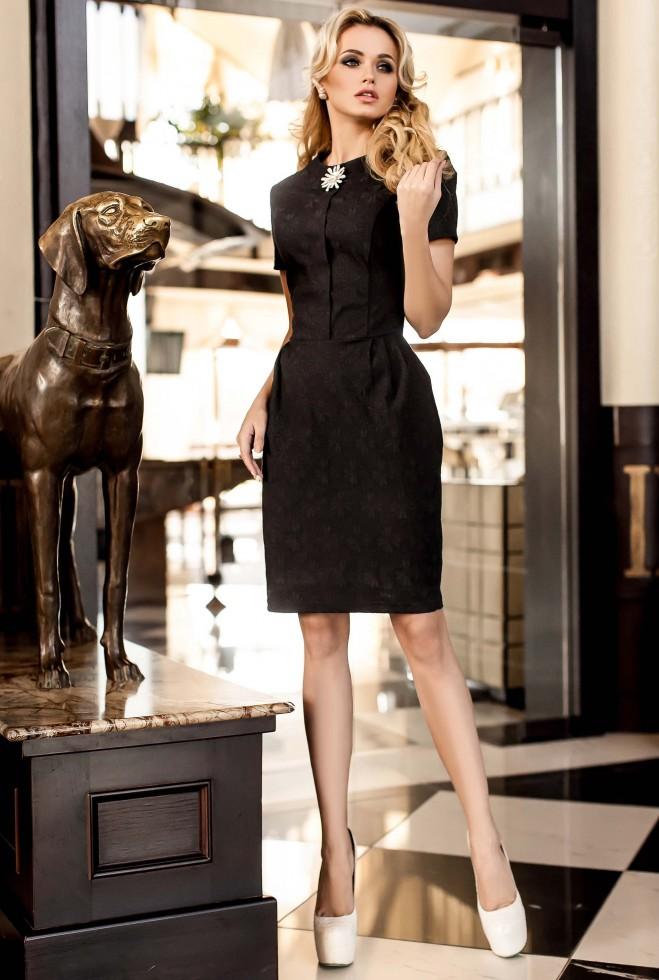 Платье Мовалли черный