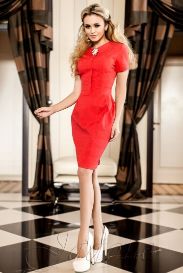 Платье Мовалли красный
