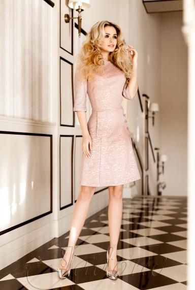Платье Порин  жемчужный