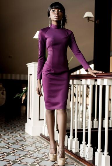 Платье Магик слива