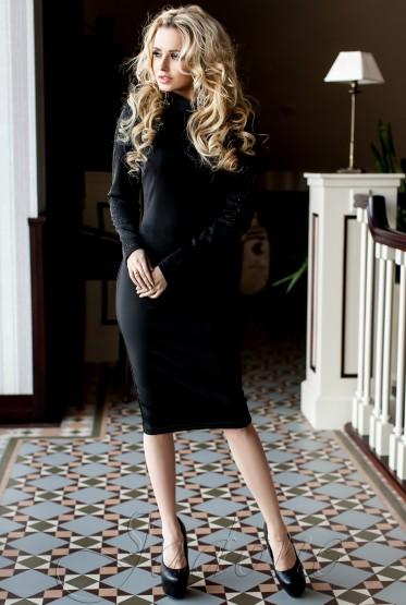 Платье Магик черный