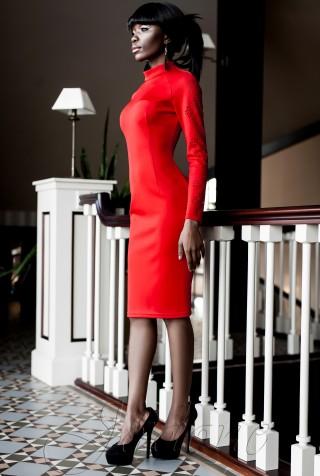 Платье Магик красный