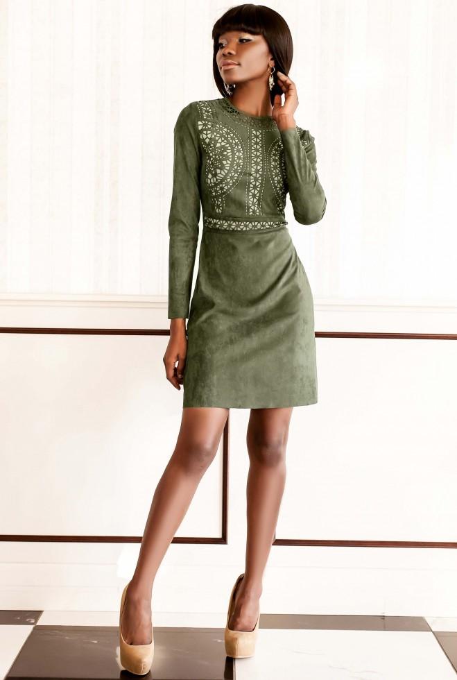 Платье Конэл хаки
