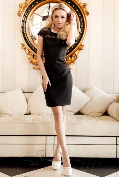 Платье Конри  черный