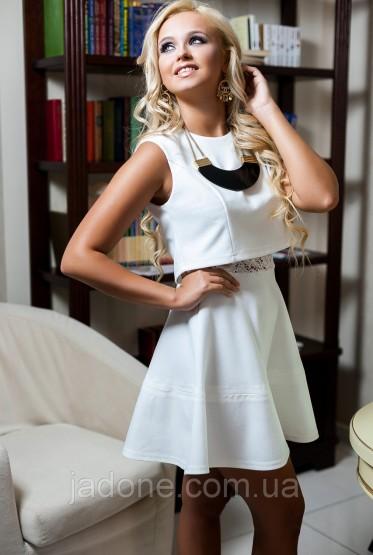 Платье Элен белый