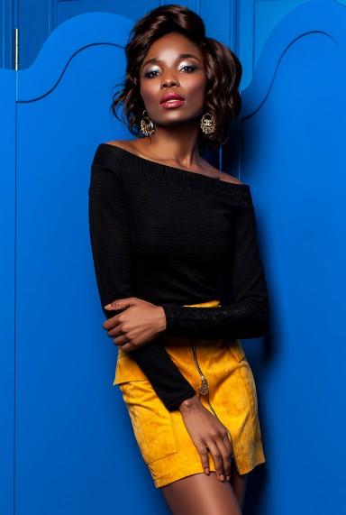 Блуза Синтия черный