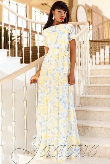 Платье Женин  жёлтый