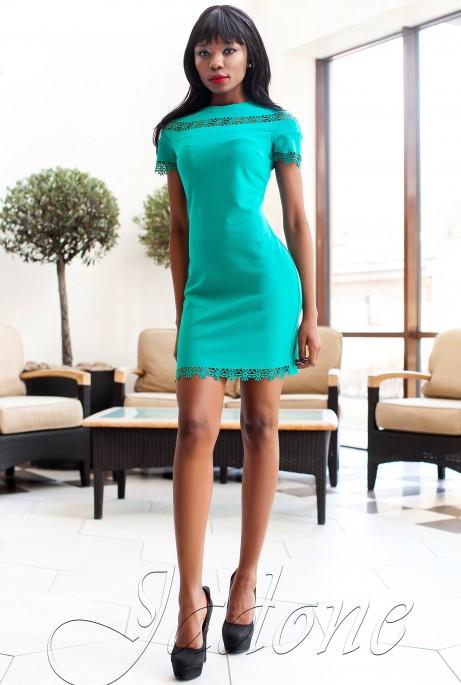 Платье Ранья  бирюзовый