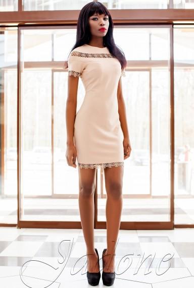 Платье Ранья  бежевый