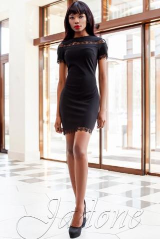 Платье Ранья  черный