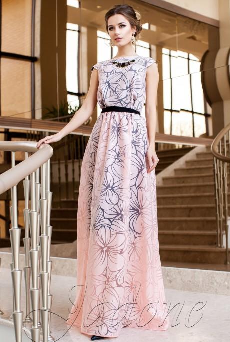 Платье Лоран персиковый