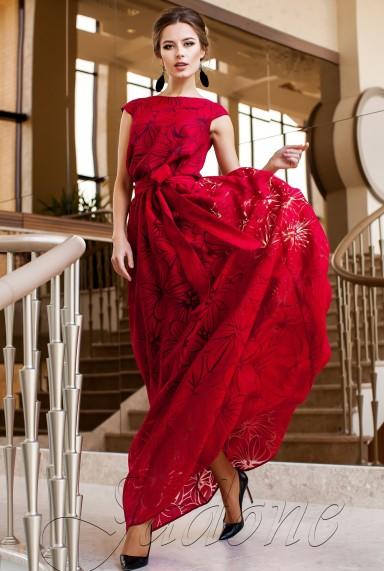Платье Бритни красный