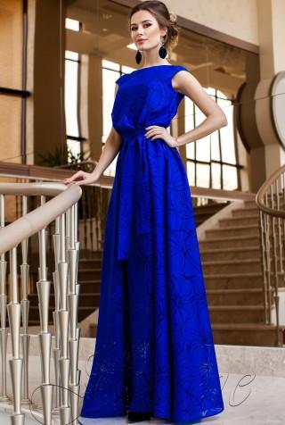 Платье Бритни электрик