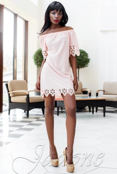 Платье-туника Кения розовый