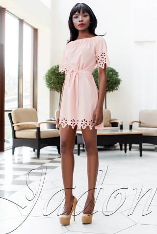 Платье-туника Кения персиковый