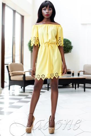 Платье-туника Кения жёлтый