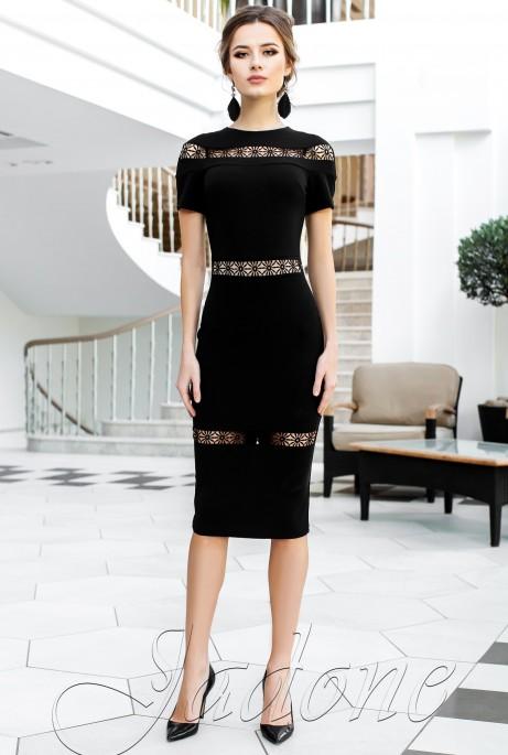Платье Размарин черный