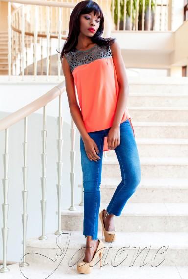 Туника Олимпия оранжевый