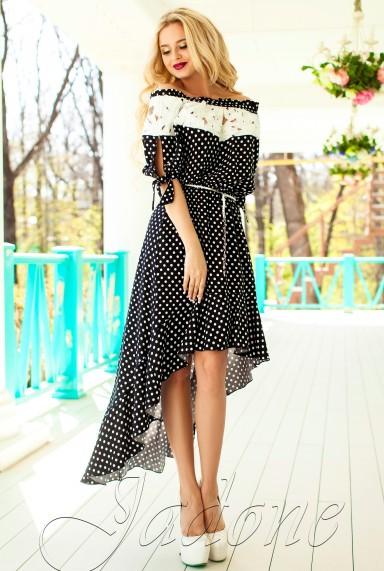 Платье Мира черный