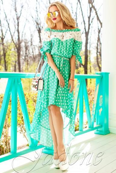 Платье Мира бирюзовый