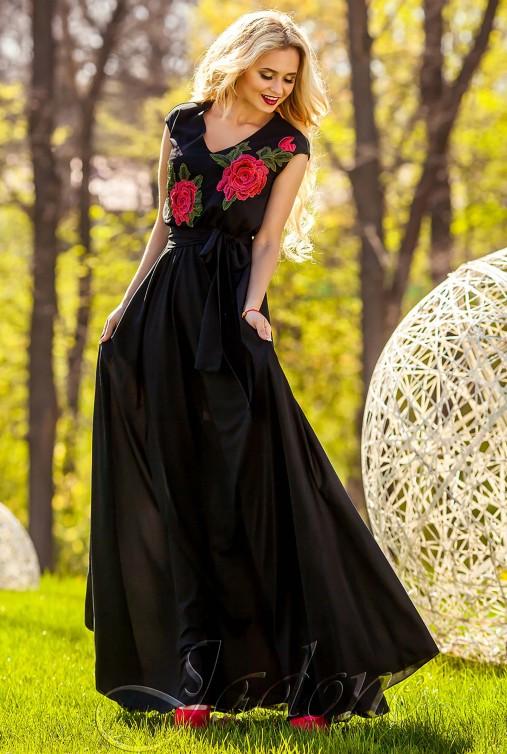 Платье Фико черный