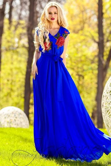 Платье Фико электрик