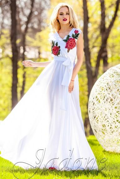 Платье Фико белый