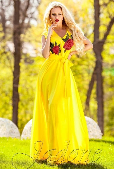 Платье Фико жёлтый