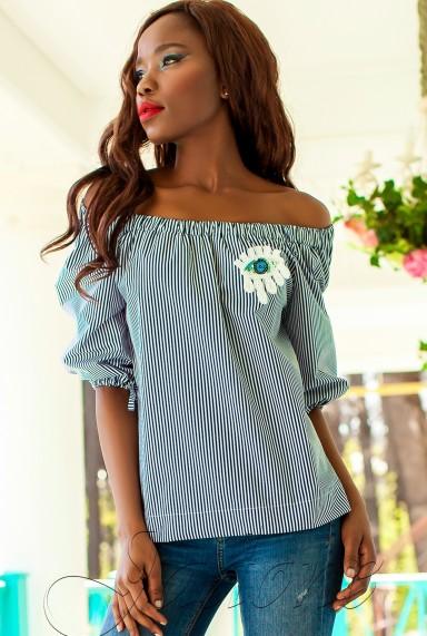 Блуза Сахис комбинированный_3