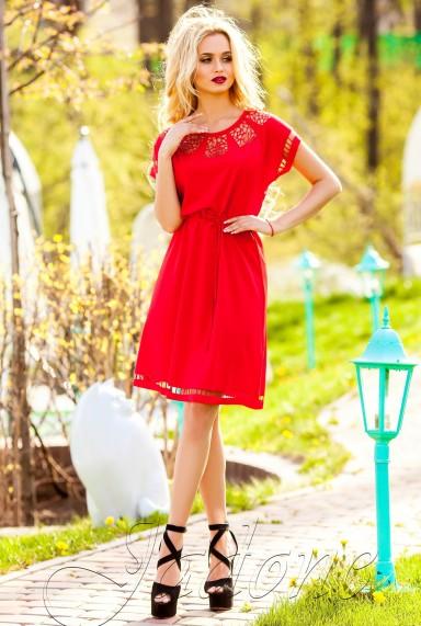 Платье-туника Херес красный