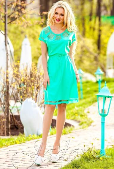 Платье-туника Херес бирюзовый